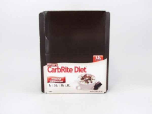 Doctor's CarbRite Diet - Mocha Cappuccino - Box view
