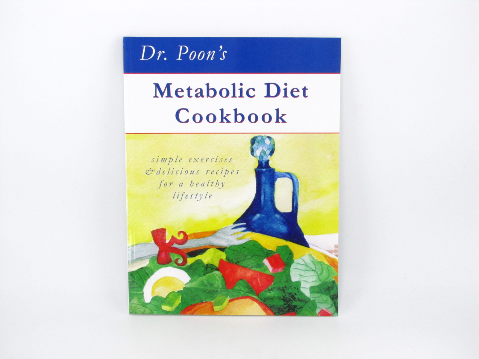 Dr Poons Metabolic Diet Cookbook - front cover