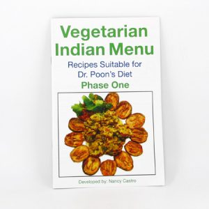 Nancy Menu Makeovers - Vegetarian Indian Menu Cook Book (Phase 1) - front cover