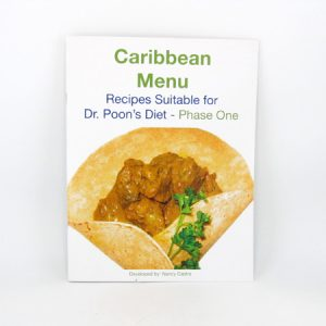 Nancy Menu Makeovers - Caribbean Menu Cook book (Phase 1 suitable) - front cover