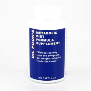 Dr. Poon's Metabolic Diet Supplements - front view