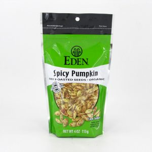 Eden Pumpkin Seeds - Spicy - front view