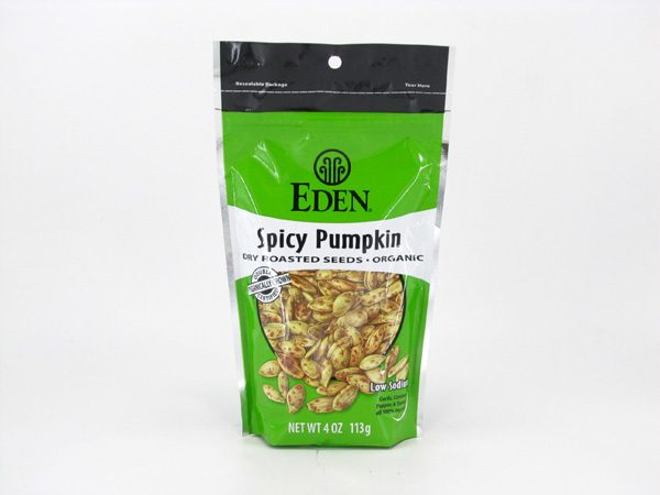 Eden Pumpkin Seeds - Spicy - front view