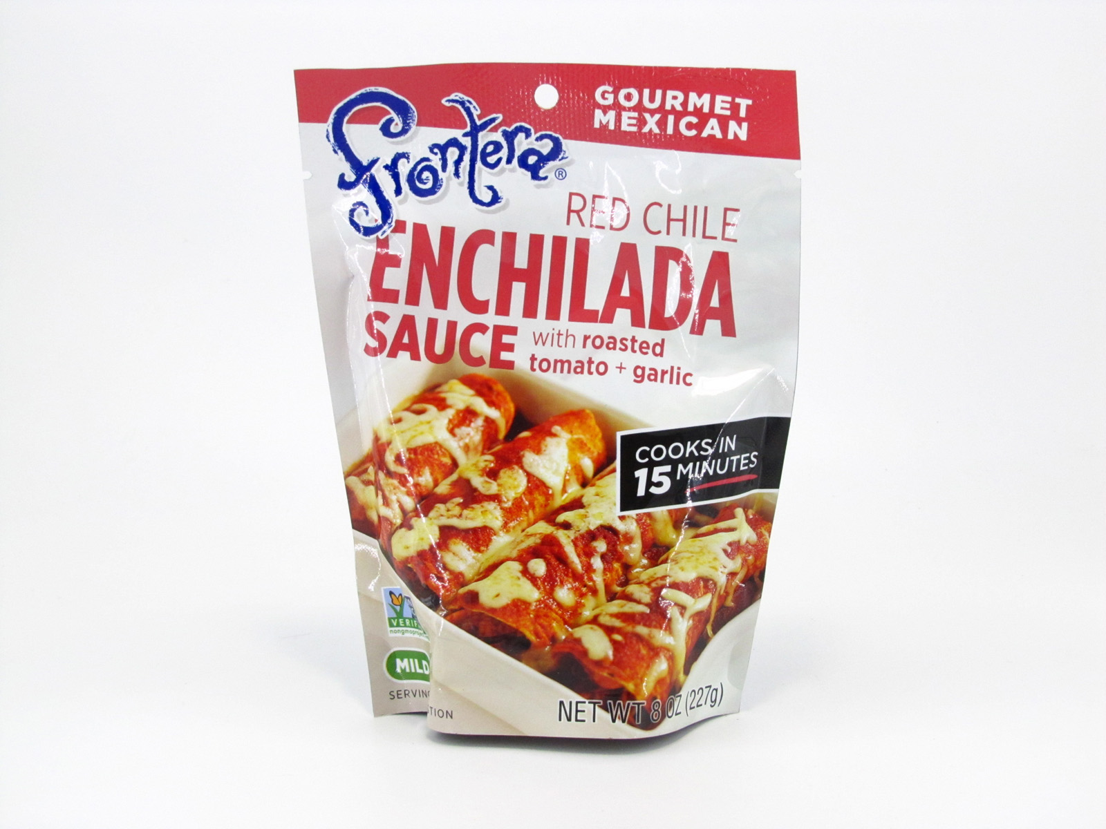Frontera Enchilada Sauce - Red Chile - front view