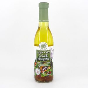 Apple Cider and Garlic Vinaigrette - front view