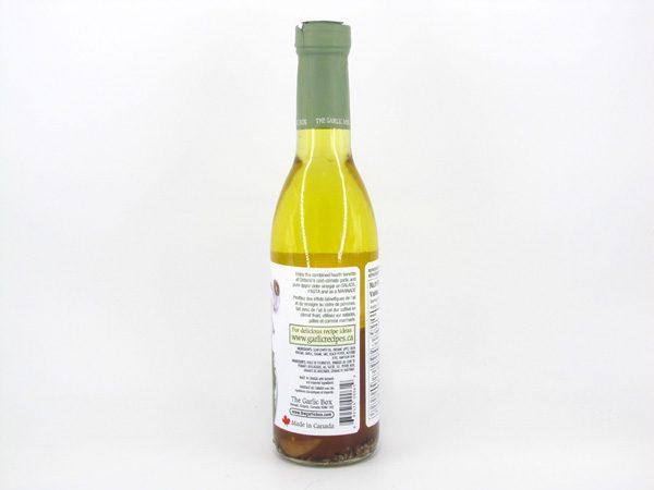 Apple Cider and Garlic Vinaigrette - side view