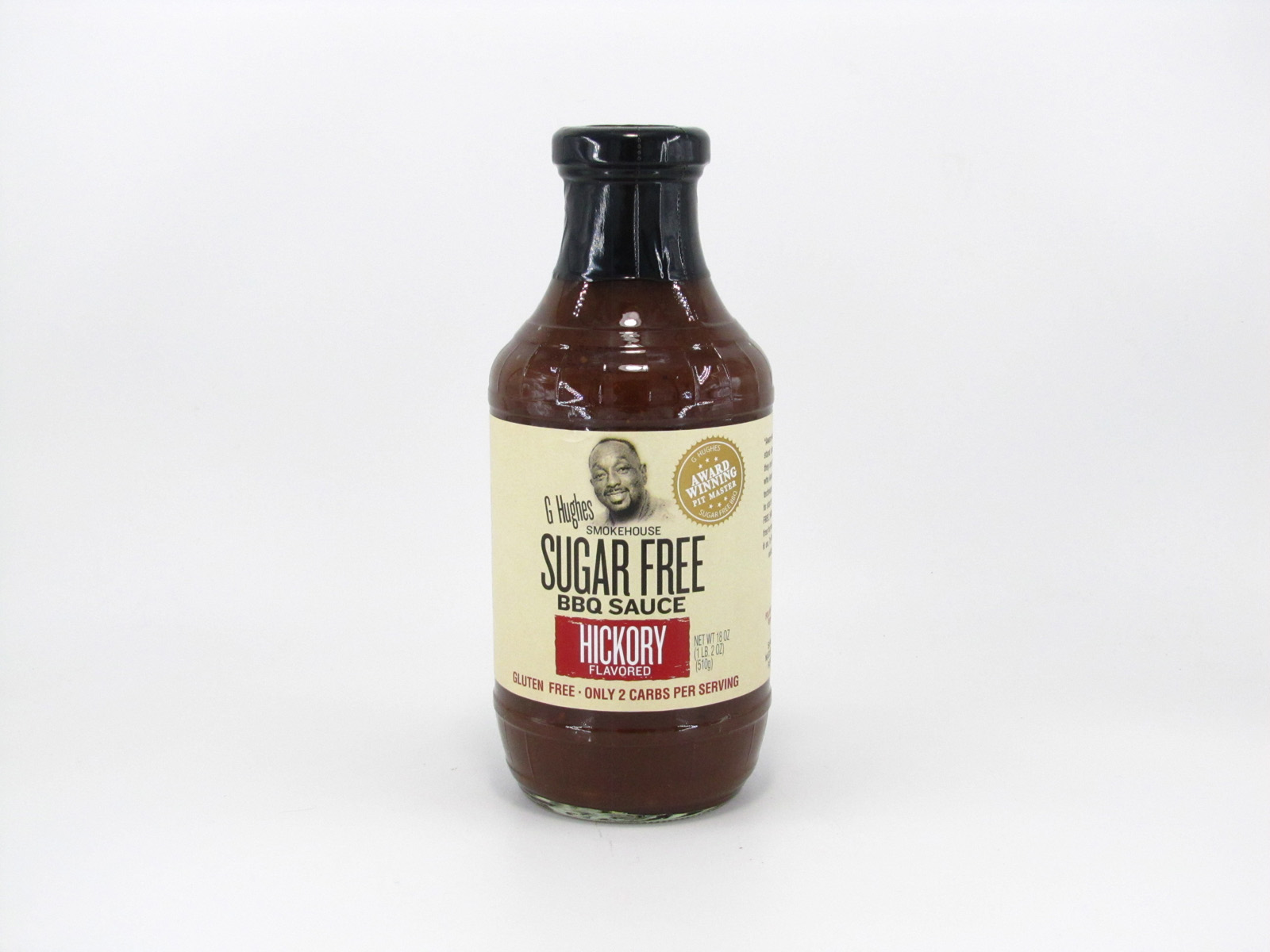 G Hughes BBQ Sauce - Hickory - front view