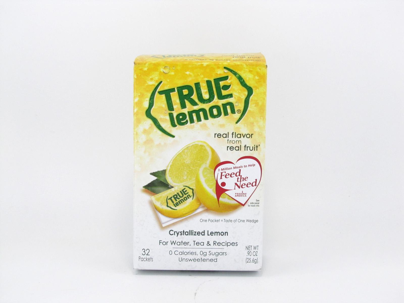 True - Lemon Powder - front view