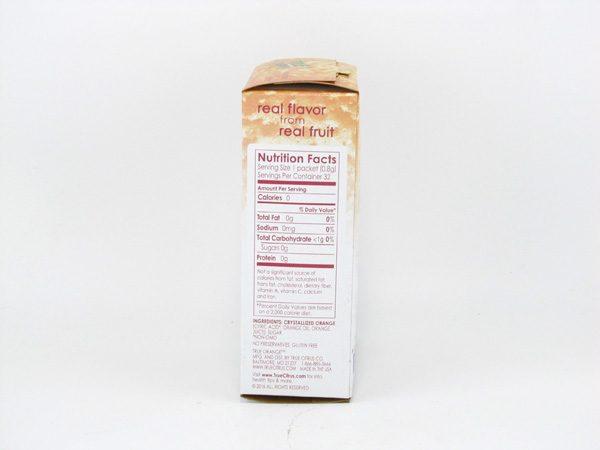 True Orange Powder - side view