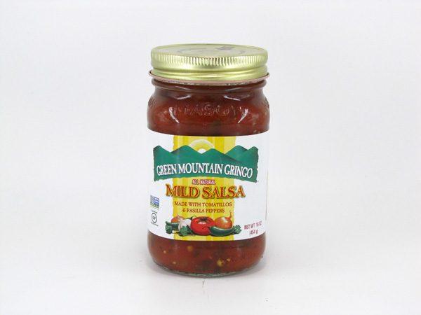 Green Mountain Gringo Salsa - Mild - front view
