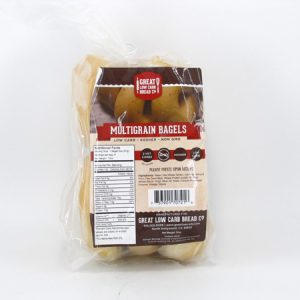 Great Low Carb Bagel - Multigrain - front view