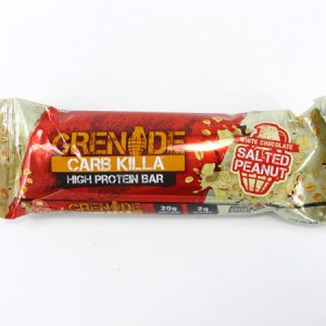 Grenade Carb Killa Protein Bar - Salted Peanut - front view