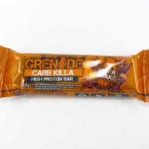 Grenade Carb Killa Protein Bar - Jaffa Quake - front view