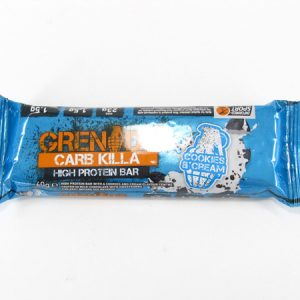Grenade Carb Killa Protein Bar - Cookies & Cream - front view