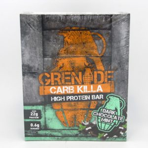 Grenade Carb Killa Protein Bar - Box of 12 - front view