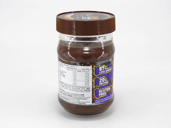 Grenade Carb Killa Protein Spread - Hazel Nutter - back view
