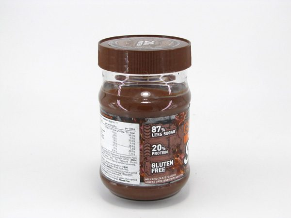 Grenade Carb Killa Protein Spread - Milk Chocolate - back view