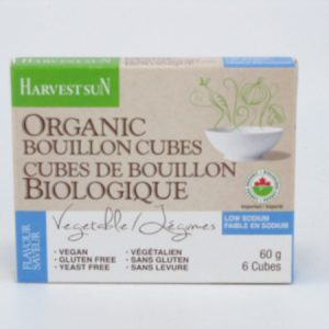 Organic Vegetable Bouillon Cubes - front view