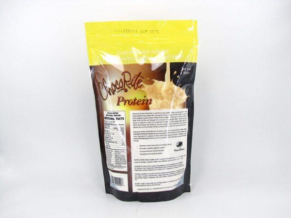 Chocorite Protein Shake (1lb) - Banana Cream - back view