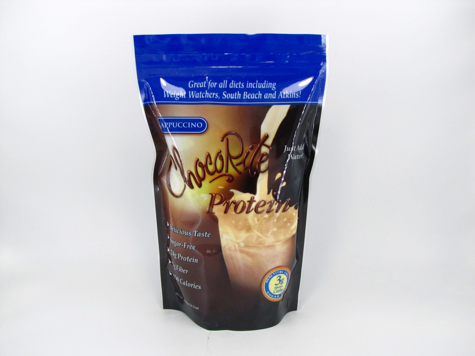 Chocorite Protein Shake (1lb)- Cappuccino - front view