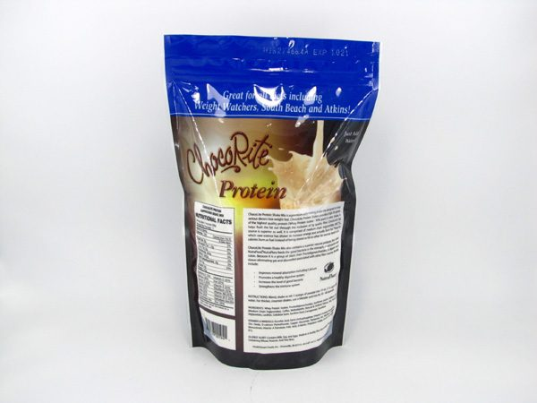Chocorite Protein Shake (1lb)- Cappuccino - back view