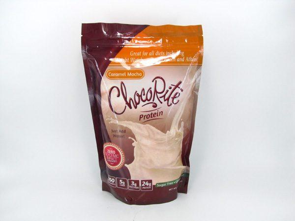 Chocorite Protein Shake (1lb) - Caramel Mocha - front view
