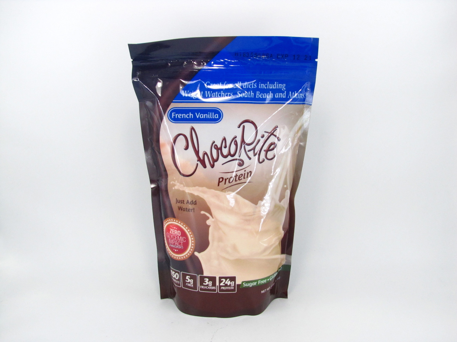 Chocorite Protein Shake (1lb)- French Vanilla - front view