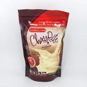 Chocorite Protein Shake (1lb)- Strawberry Cream - front view
