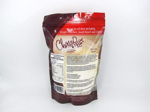 Chocorite Protein Shake (1lb)- Strawberry Cream - back view