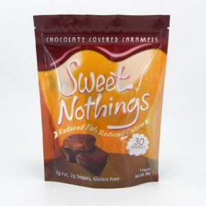 Sweet Nothings - Chocolate Covered Caramels - front view