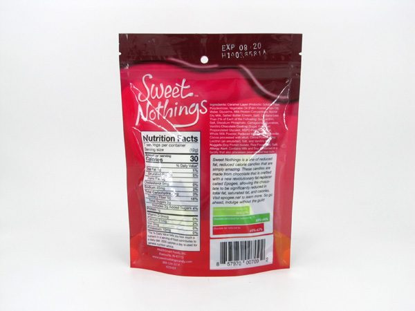 Sweet Nothings - Caramel Crispy - back view
