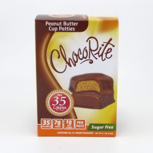 Health Smart Chocorite Bar ( Value Pack ) - Peanut Butter Cup - front view