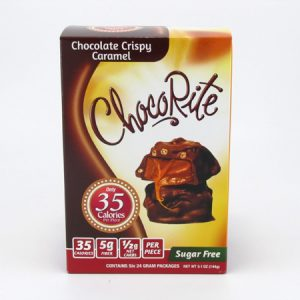 Healthsmart Chocorite Bar (Value pack ) Chocolate Crispy Caramel - front view