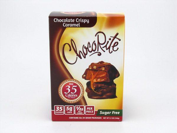 Healthsmart Chocorite Bar (Value pack ) Chocolate Crispy Caramel - front view