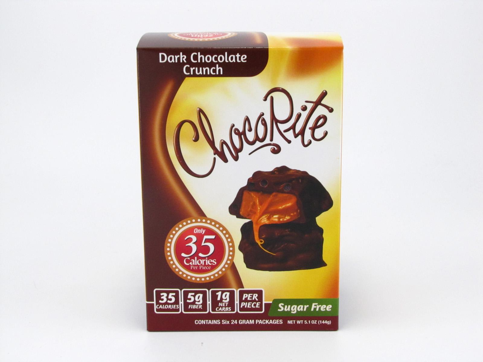 Healthsmart Chocorite Bar (Value pack ) - Dark Chocolate Crunch - front view