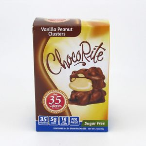 Healthsmart Chocorite Bar ( Value pack ) Vanilla Peanut Clusters - front view