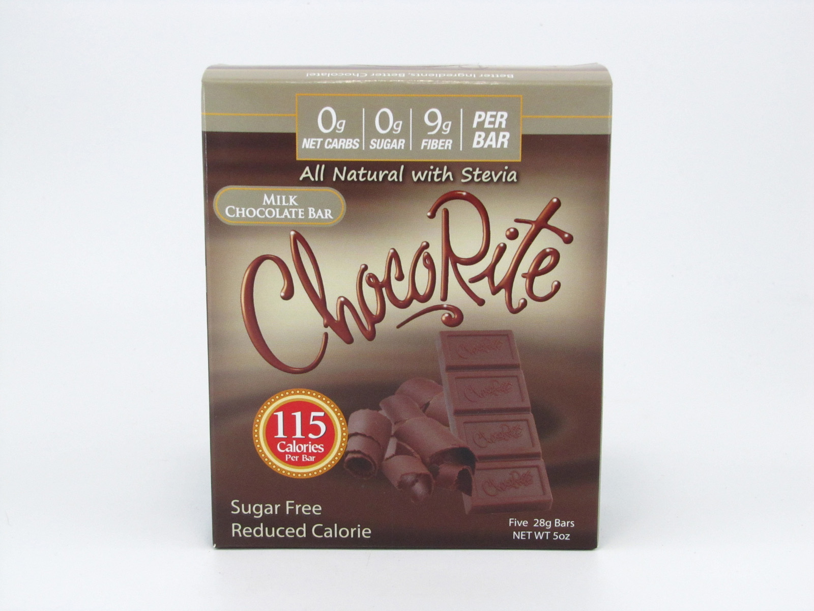 Chocorite Bar (Five 28g ) - Milk Chocolate- front view