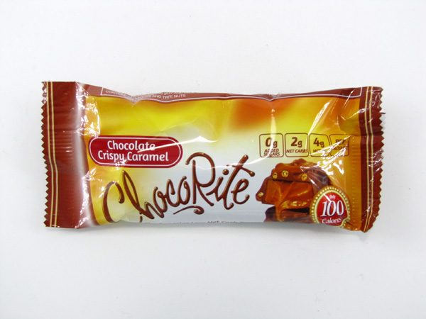 Chocorite Bar (32g) - Chocolate Crispy Caramel - front view