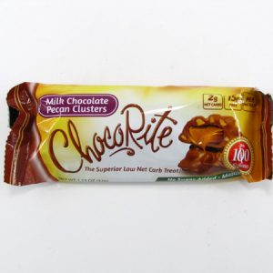 Chocorite Bar (32g) - Milk Chocolate Pecan Cluster - front view