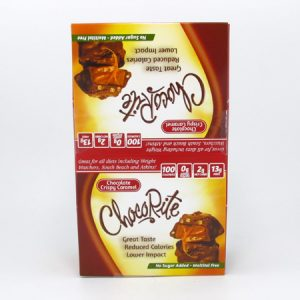Chocorite Bar (32g) - Chocolate Crispy Caramel Box of 16 - front view