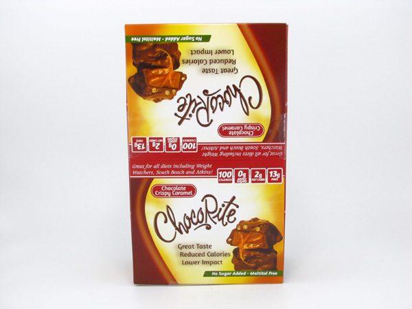 Chocorite Bar (32g) - Chocolate Crispy Caramel Box of 16 - front view