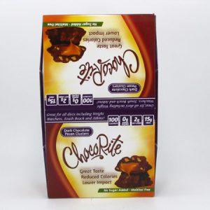 Chocorite Bar (32g) - Dark Chocolate Pecan Cluster Box of 16 - front view