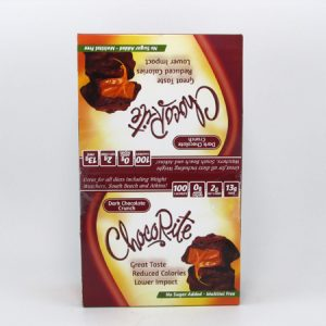 Chocorite Bar (32g) - Dark Chocolate Crunch Box of 16 - front view