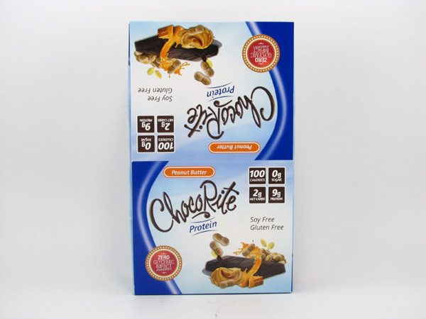 Chocorite Protein Bar ( 34g) - Peanut Butter Box of 16 - front view