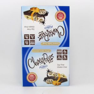 Chocorite Protein Bar (34g) - Caramel Cookie Dough Box of 16 - front view
