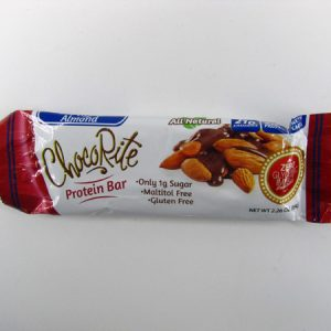Chocorite Protein Bar (64g) - Chocolate Almond - front view
