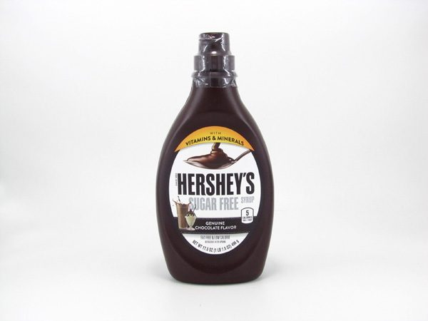 Hershey's Syrup - Chocolate - front view
