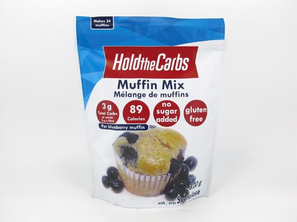 Hold the Carbs - Low Carb Muffin Mix 320g - front view