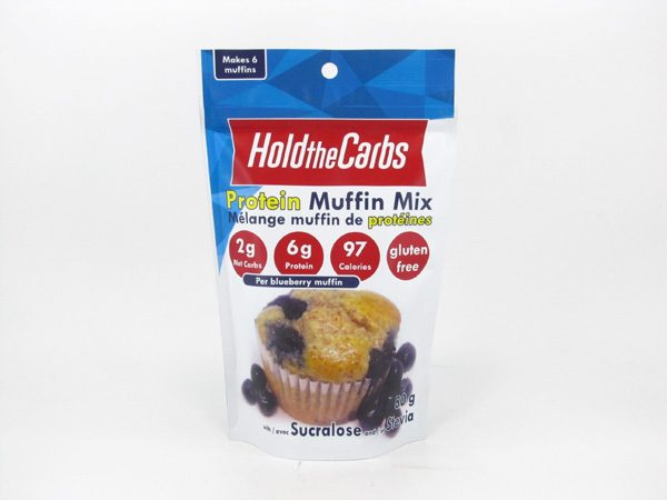 Hold the Carbs - Protein Muffin Mix 80g - front view