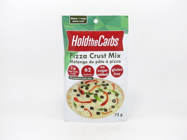 Hold the Carbs - Low Carb Pizza Mix 75g - front view